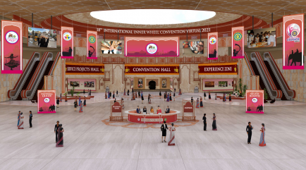 Convention Hall - Die Empfangshalle (Lobby)