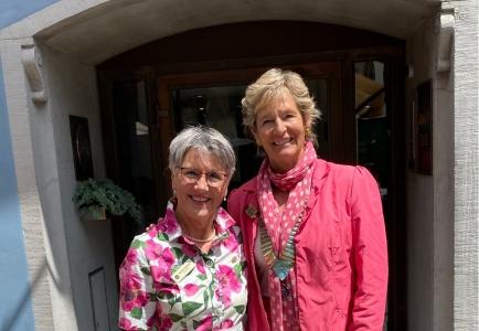 Hanna Lienhard, Governor 2020/21 und Christine Winkler Unterberg, Governor 2021/2022
