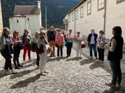 Der IW Club Rätia besucht das UNESCO Kulturerbe Kloster Müstair
