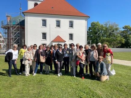 Messkirch hat uns mit wunderbar blauem Himmel und kräftigem Sonnenschein begrüsst.